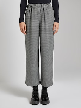 Culottes with a houndstooth pattern - 1 - TOM TAILOR Denim