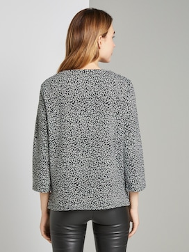 Sweatshirt mit Leo-Print - 2 - TOM TAILOR