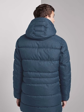 Quilted parka with detachable hood - 2 - TOM TAILOR