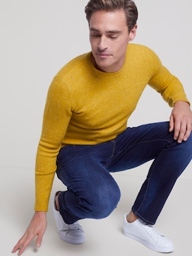 patterned knitted jumper - 5 - TOM TAILOR