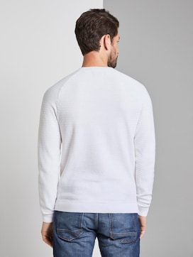 structured knitted jumper - 2 - TOM TAILOR