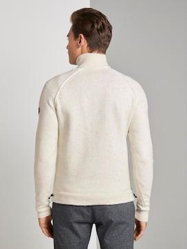 Gebreide trui met opstaande kraag - 2 - TOM TAILOR