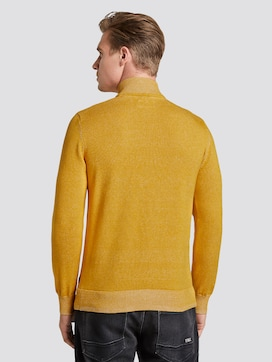 Strickpullover in Melange-Optik - 2 - TOM TAILOR