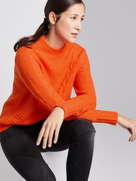 Sweatshirt met textuur - 5 - TOM TAILOR