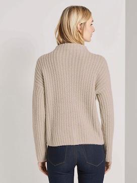 Sweatshirt met textuur - 2 - TOM TAILOR