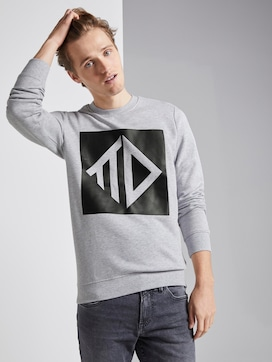 Sweatshirt met print - 5 - TOM TAILOR Denim