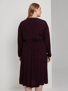 Midi-dress with pattern - 2 - Tom Tailor E-Shop Kollektion
