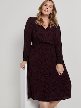 Midi-dress with pattern - 5 - Tom Tailor E-Shop Kollektion