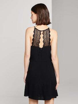 Halterneck dress with lace - 2 - TOM TAILOR Denim