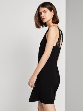 Halterneck dress with lace - 5 - TOM TAILOR Denim