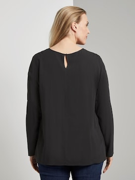 Bluse mit Spitzendetail - 2 - Tom Tailor E-Shop Kollektion