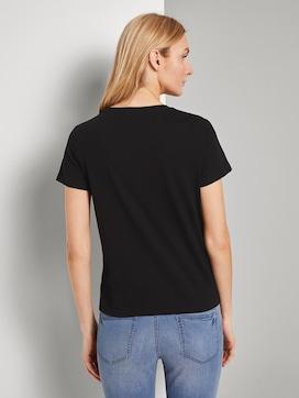 Toni Garrn: T-shirt met print - 2 - TOM TAILOR