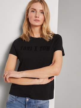 Toni Garrn: T-shirt with print - 5 - TOM TAILOR