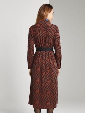 Toni Garrn: Kleid mit Gürtel - 2 - TOM TAILOR