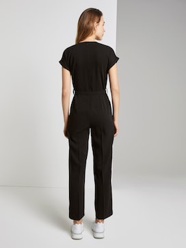 Toni Garrn: Structured jumpsuit - 2 - TOM TAILOR