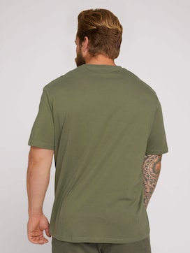 T-Shirt mit Logo Print - 2 - Men Plus