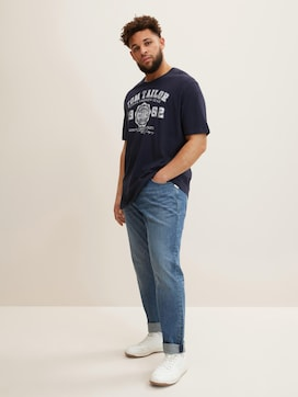 T-Shirt mit Logo-Print - 5 - Men Plus
