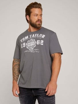 T-Shirt mit Logo Print - 5 - Men Plus
