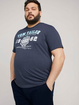 T-Shirt mit Logo-Print - 5 - Men Plus