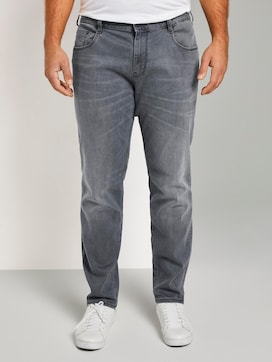 5 Pocket Slim Jeans - 1 - Men Plus