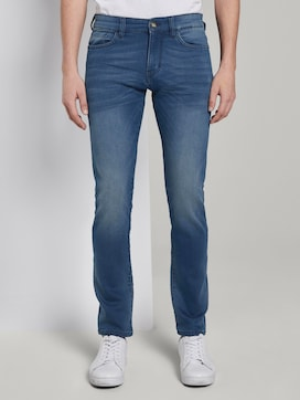 Troy slim jeans in a sweat look - 1 - TOM TAILOR
