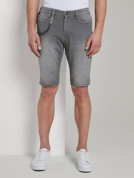Sweat Jeans-Shorts - 1 - TOM TAILOR