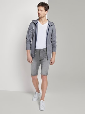 Sweat Jeans-Shorts - 3 - TOM TAILOR