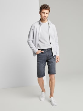 Josh Regular Slim Jeans-Shorts mit Superstretch - 3 - TOM TAILOR