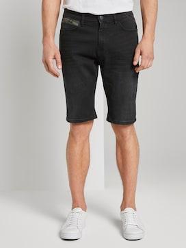 Josh Regular Slim Jeans-Shorts mit Superstretch - 1 - TOM TAILOR