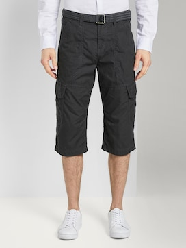 Cargo Bermuda-Shorts mit Gürtel - 1 - TOM TAILOR