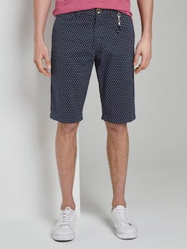 Chino shorts with a keychain - 1 - TOM TAILOR