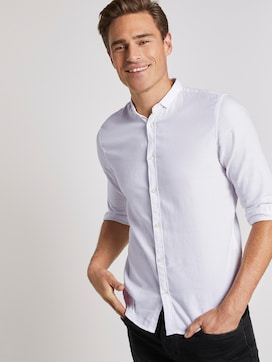 structured shirt - 5 - TOM TAILOR