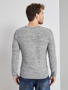Fine striped sweater - 2 - TOM TAILOR