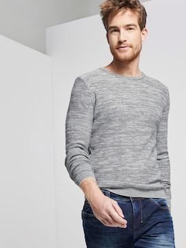 Fine striped sweater - 5 - TOM TAILOR