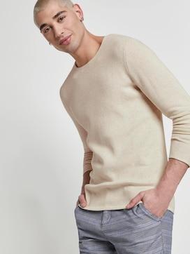 Strukturierter Pullover - 5 - TOM TAILOR Denim
