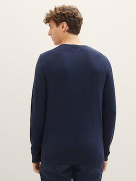 Strukturierter Pullover - 2 - TOM TAILOR Denim