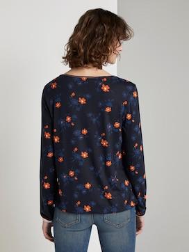 Lange mouwen shirt met bloemenprint - 2 - TOM TAILOR