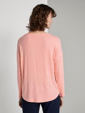 Lange mouwen shirt met print - 2 - TOM TAILOR