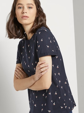 T-Shirt with a print - 5 - TOM TAILOR