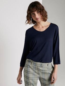 3/4-mouwen shirt - 5 - TOM TAILOR