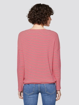 striped long-sleeved top - 2 - TOM TAILOR