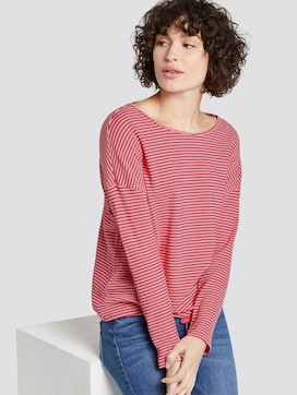 striped long-sleeved top - 5 - TOM TAILOR