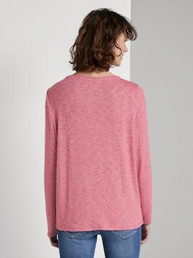 T-shirt mit Knotendetail - 2 - TOM TAILOR