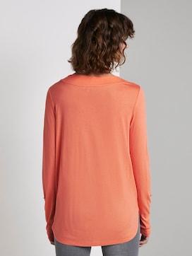 Blouse shirt met V-hals - 2 - TOM TAILOR