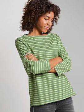 Striped Ottoman sweatshirt - 5 - TOM TAILOR