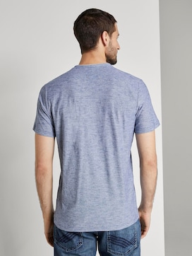 Gestreiftes Henley-T-Shirt - 2 - TOM TAILOR