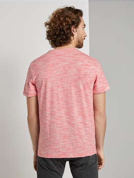 Basic Two-Tone T-Shirt - 2 - TOM TAILOR