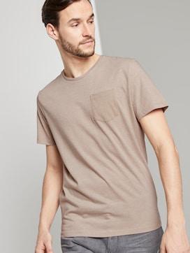 Gestreiftes T-Shirt mit Brusttasche - 5 - TOM TAILOR