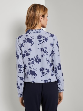 Blouse with flower print - 2 - TOM TAILOR