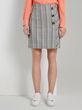 checked skirt - 1 - TOM TAILOR